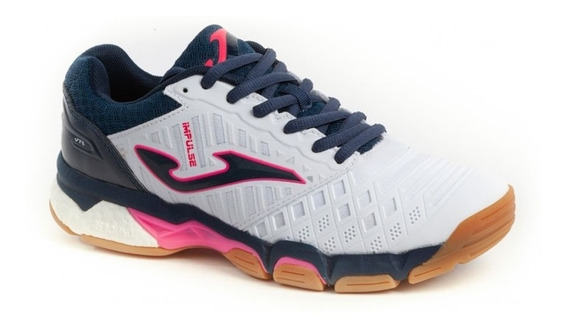 Zapatillas Joma Impulso Dama Tenis/padel Blanco Royal !! @