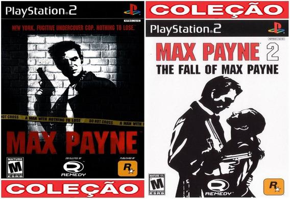 Max Payne 1 E 2 Collection Ps2 Desbloqueado Patch