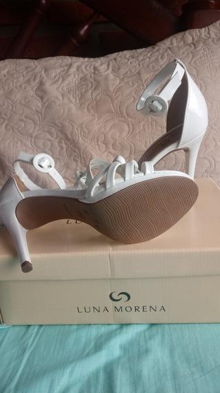 Zapatos Medio Taco Aguja T.37