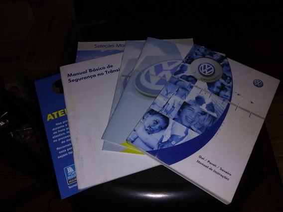 Manual Proprietário Em Branco Gol Ano 2006 Todos Modelos -