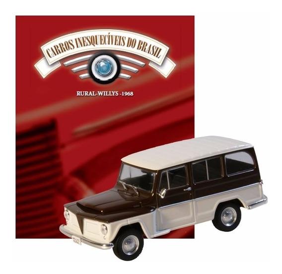 Carros Inesquecíveis Do Brasil - Rural Willys (1968)