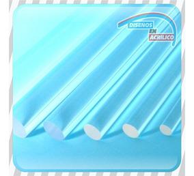 Acrílico,tubo, Varilla Redonda De 90 Cm X 12 Mm