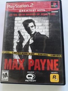 Max Payne Incluye Manuales Ps2 Envio Gratis
