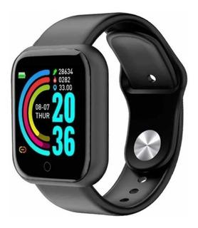 Reloj Inteligente Smartwatch Zafira Black Modelo Rel-d20