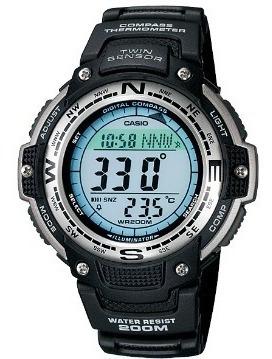 Relogio Casio Sgw-100 Outgear Termometro Cronometro Alarme