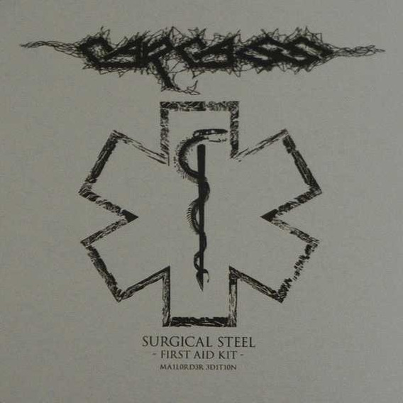 Carcass:surgical Steel Fist Aid Kid Mail Order Box Set Cd