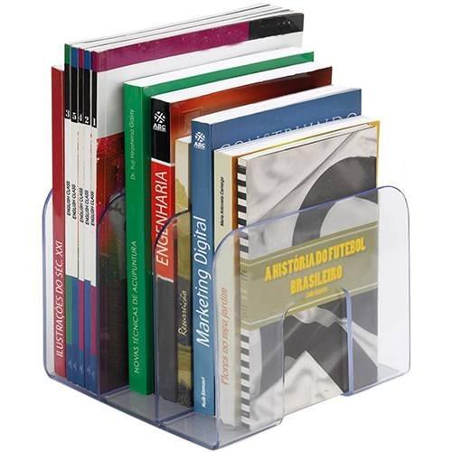 Organizador De Livros Acrílico Triplo Waleu Standard