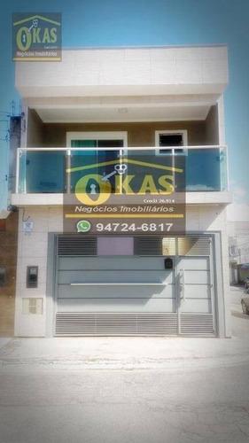 Imagem 1 de 30 de Sobrado Com 4 Dormitórios À Venda Por R$ 850.000,00 - Vila Figueira - Suzano/sp - So0191