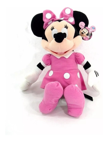 Peluche Muñeco Minnie Mouse 50cm Grande Suave Juguete