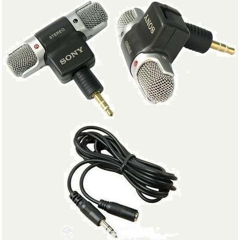 Microfone + Cabo Extensor Gopro Hero 3 3+ 4