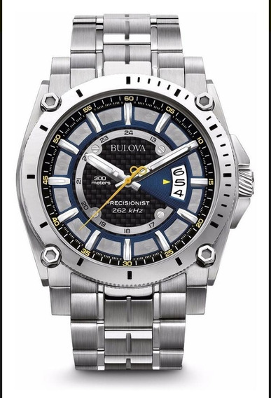 Relógio Bulova Precisionist Masculino Wb31014a Original-ofer