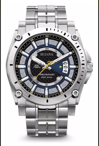 Relógio Bulova Precisionist Masculino Wb31014a Original-ofer