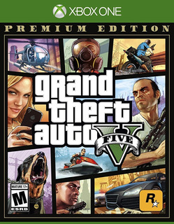 ..:: Gta Grand Theft Auto 5 Premium Edition ::.. Xbox One
