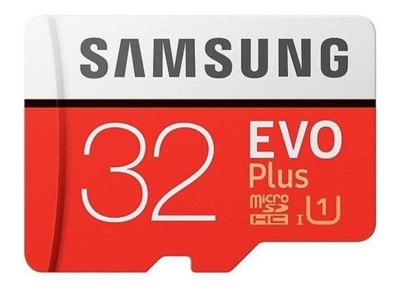 Samsung Evo Plus 32gb 95mb/s Micro Sdhc Uhs-i U1 4k Original