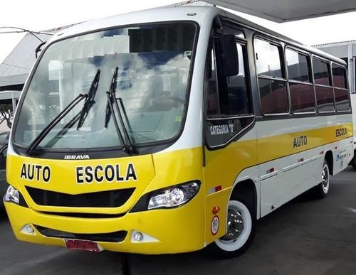 Imagem 1 de 12 de Micro Ônibus Auto Escola 2012 - Pronta Entrega