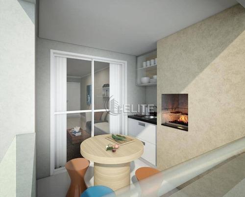 Excelente Apartamento Novo Com Sacada Gourmet - Ap11036
