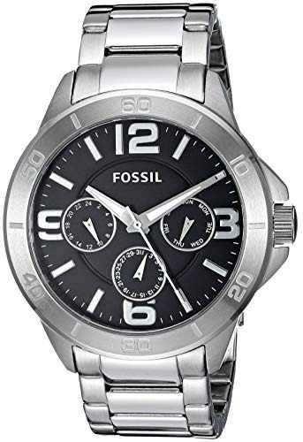 Fosil Reloj De Cuarzo De Acero Inoxidable Para Hombre Con Di
