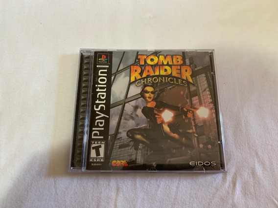 Tomb Raider Chronicles Ps1 Original Completo