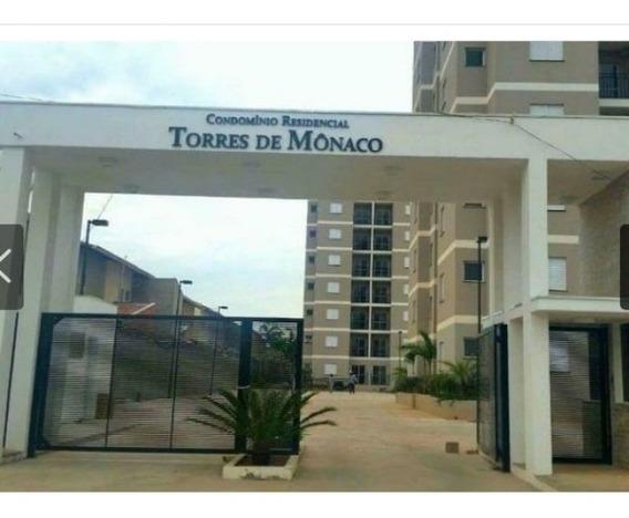 Apartamento No Condomínio Residencial Torres De Mônaco - Jardim Pacaembu I - Itupeva - Ap02279 - 32192629