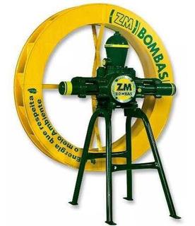 Roda D Agua Zm-44 Com Bomba Com Cavalete 1,00 X 0,15 Mm