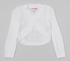 6d3dedeed Suéter Bolero Crochet Niña T 4 Niña Tela Punto C136