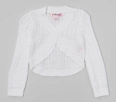 Suéter Bolero Crochet Niña T 4 Niña Tela Punto C136