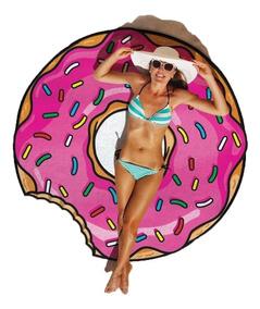 Canga Redonda Donuts Praia Frutas Saida Biquini Divertida