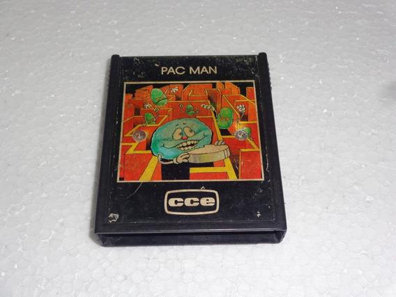 Pac Man Da Marca Cce Para Atari 2600 Confira As Fotos #1