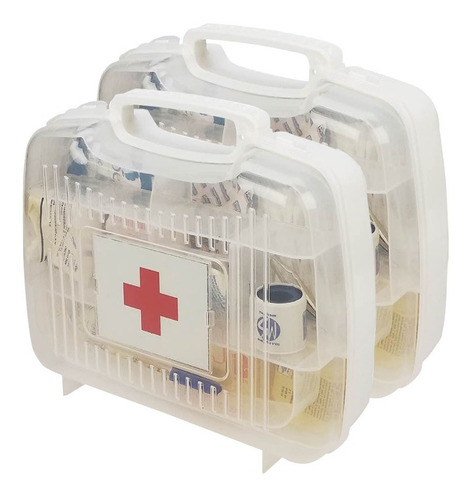 2 Pack Botiquín De Primeros Auxilios Portatil Equipado
