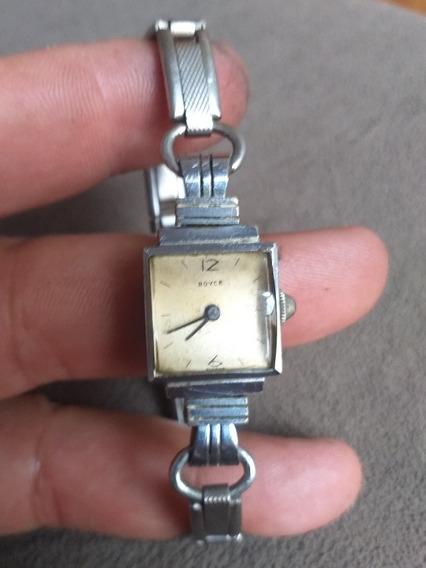 Relógio Feminino Royce 3323 De Corda Funcionando Perfeitamen