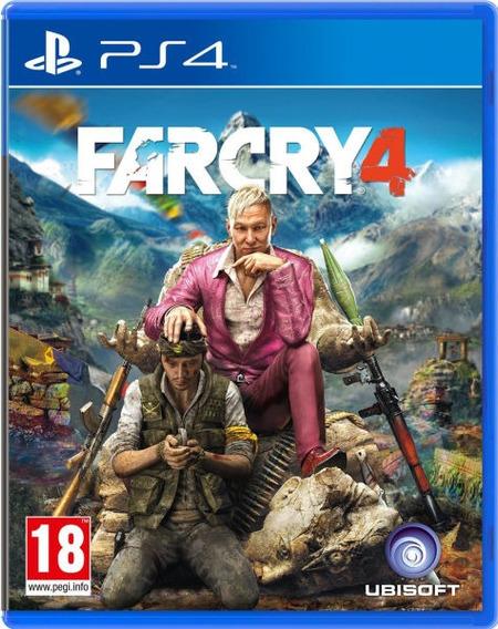 Far Cry 4 - Ps4 - Mídia Física - Novo