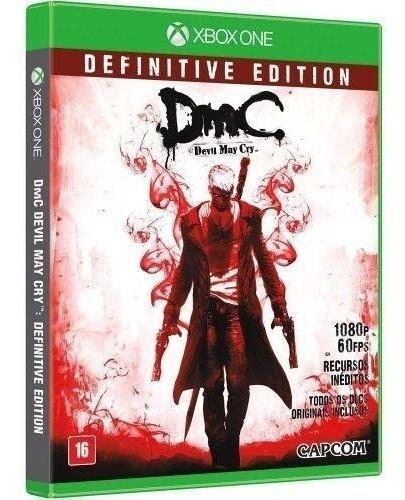 Jogo Dmc Devil May Cry Definite Edition - Xbox One Usado