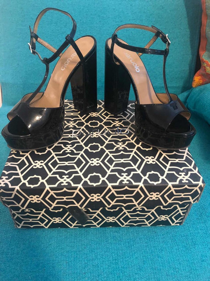 Zapatos Paruolo Negro