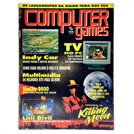 Computer E Games Edição Nº 7 Revista Rara Dezembro 1994
