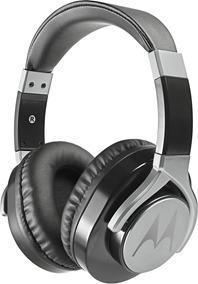 Fone De Ouvido Motorola Pulse Max Wired C/ Microfone - Preto