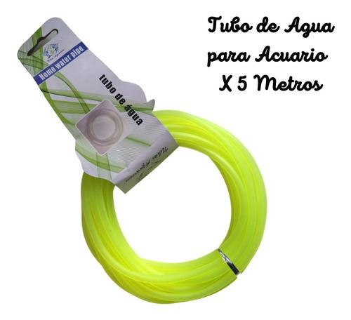 Tubo De Agua, Manguera Para Acuario