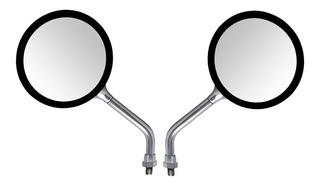 Espelho Retrovisor Modelo Honda Cb 500 Cromado Par