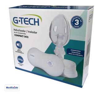 Aparelho Nebulizador Portátil G-tech Compact Dc2 C/ Garantia