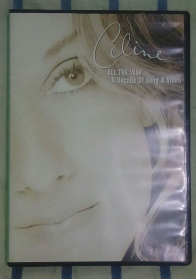 Dvd Celine Dion All The Way... A Decade Of Song & Video