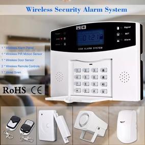 Central Alarme Segurança Gsm Discadora Residencial Comercial