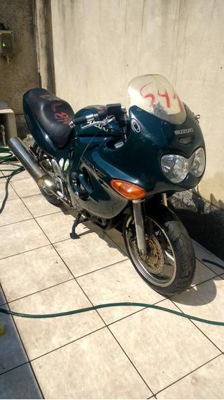 Peças Suzuki Gsx 750f De 99 A 2008 Sucata C/ Baixa Do Detran