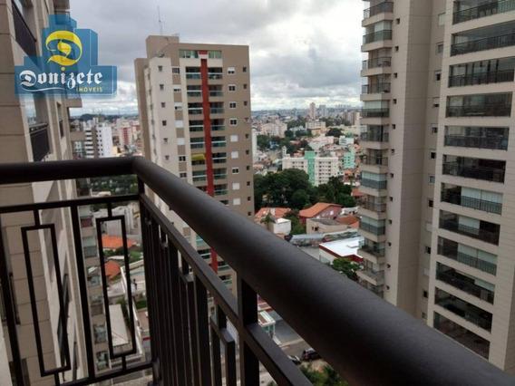 Apartamento Com 3 Dormitórios À Venda, 177 M² Por R$ 1.6000.000,00 - Campestre - Santo André/sp - Ap8050