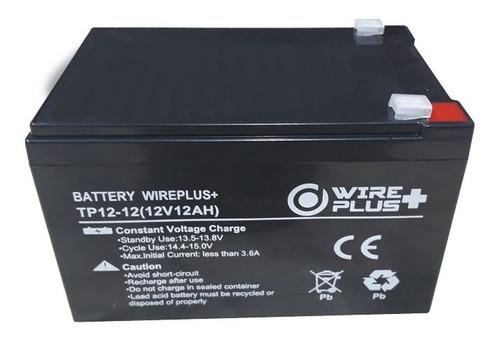 Imagen 1 de 2 de Batería Ups 12v 12ah Pila Alarma Cerco Electrico Tienda