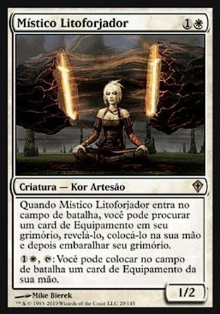 Magic The Gathering - Stoneforge Mystic/místico Litoforjado