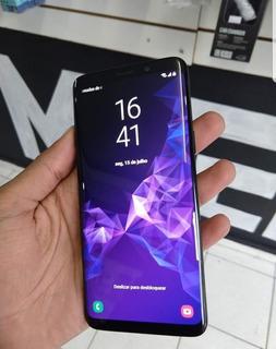 Galaxy S9 Com Todos Os Acessórios E Nota Fiscal.