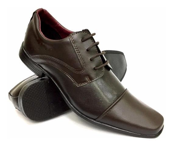 Sapato Social Masculino Marrom Classico Atacado Revenda