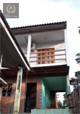 Casa Com 3 Dormitórios À Venda, 136 M² Por R$ 232.000 - Estalagem - Viamão/rs - Ca0625