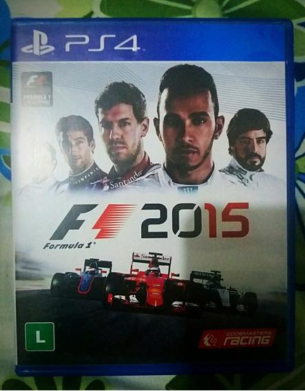 F1 2015 Ps4 Playstation Sony.
