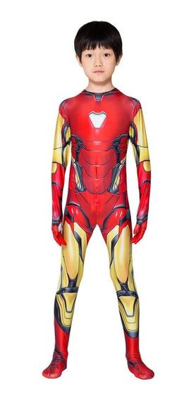Trajes Iron Man Y Spiderman Para Niños