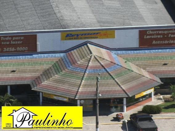 Salão Comercial Para Venda Ou Locação Na Praia De Peruíbe. Excelente Localização! - Sl00061 - 3147025
